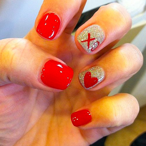 Best Valentines Day Nails for 2019 - 44 Heartwarming Nail